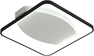 Ceiling light ضوء السقف الحد الأدنى الحديث، أسود ثلاثة ألوان يعتم ضوء السقف LED 21W (شامل) -30W (مشمول) Dimmable Ceiling L...