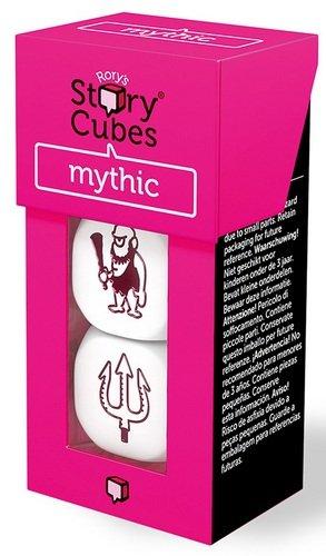 Rory Story Cubes Mythic Juego de Mesa de Dados para Crear Cuentos e Historias, temática mitología (podría no Estar en español)