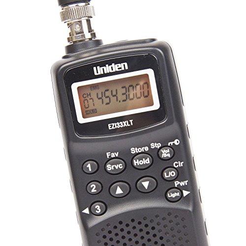 Uniden EZI 33 XLT Handscanner/Kleiner manueller Frequenzenscanner/Speicherung bis 180 Frequenzen /3 Prioritätskanäle/Unterstütztes Band:78-512 MHz