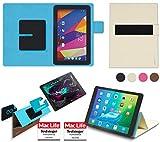 reboon Hülle für Captiva Pad 10 3G Plus Tasche Cover Case Bumper | in Beige | Testsieger