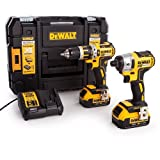 <span class='highlight'>Dewalt</span> DCK259M2T 18 V <span class='highlight'>XR</span> Li-Ion Brushless <span class='highlight'>Combi</span> <span class='highlight'>Drill</span> <span class='highlight'>and</span> <span class='highlight'>Impact</span> Driver Twin Pack