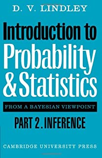 Introduction to Probability and Statistics from a Bayesian Viewpoint, Part 2, Inference