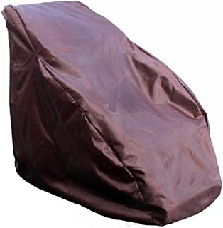 Waterproof Full Body Shiatsu Massage Chair Cover, Zero Gravity Single Recliner Chair Dustproof Protector Cover, Moisture Resistance & Mildew Proof, 59x39x55 Inch