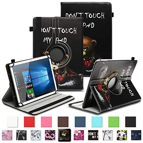 NAUC Asus ZenPad 3 8.0 Tablet Schutzhülle Tasche Tablettasche Hülle mit Standfunktion 360° drehbar hochwertige Kunst-Leder Verarbeitung Cover viele Motive Universal Tablethülle Hülle, Farben:Motiv 8