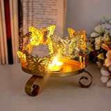 YHCWJZP Candle Holders for Table, Iron Art...
