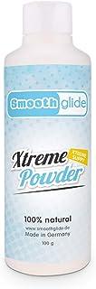Smoothglide Xtreme Powder naturlig näve gel vattenbaserad 100 g