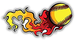 Best flaming softball image Reviews
