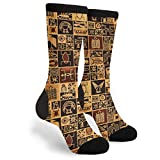 African Egyptian Culture Novelty Socks For Women & Men One Size - Gifts