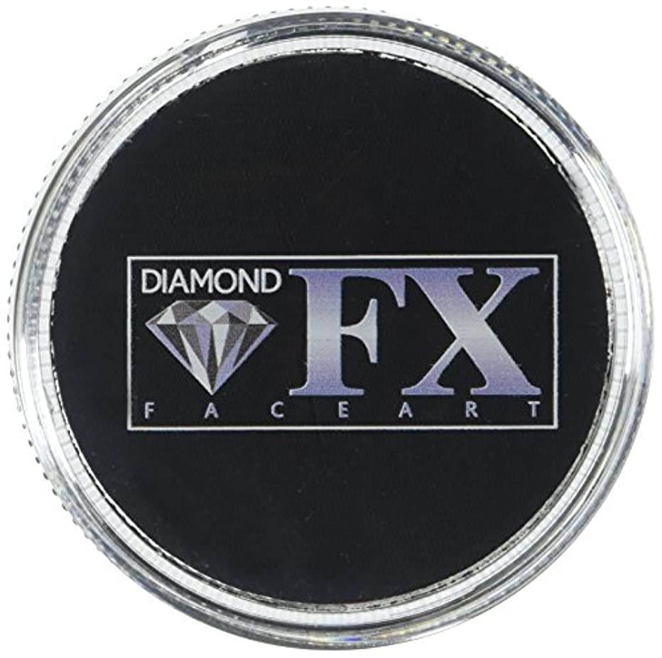 Diamond FX Essential Face Paint - Black (30 gm)