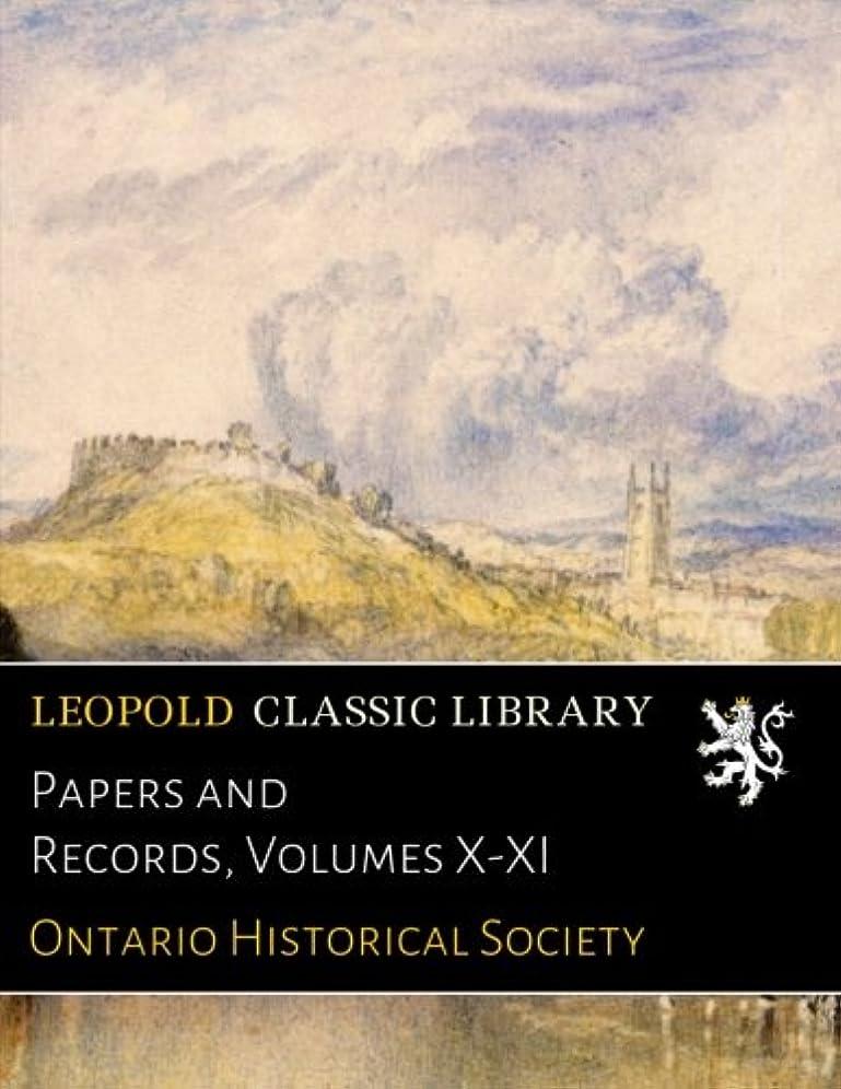 予約マスタード流Papers and Records, Volumes X-XI