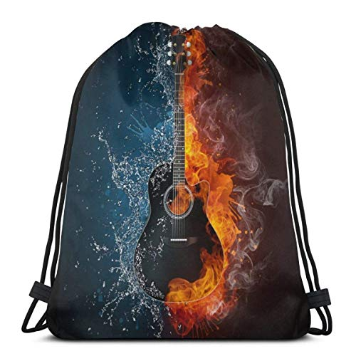 que choisir Hangdachang Acoustic Guitar Drawstring Backpack, Water, Sports, Sports, Sports, Storage Bags, Women, Men, Kids, Yoga, Beach, Swimming, Large Outdoor Bags choix