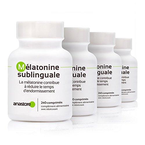 MELATONINA SUBLINGUAL * OFERTA 3+1 GRATIS * Pureza garantizada superior al 99% * 1.8 mg / 480 dosis * Estevia (Aroma limón) * Regulador del reloj interno * Trastorno del sueño