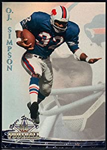 Football NFL 1994 Ted Williams Roger Staubach's NFL #8 O.J. Simpson NM-MT+ Bills
