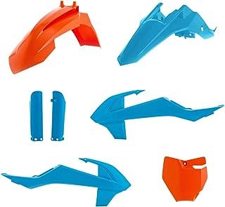 Acerbis 16-20 KTM 65SX TLD Limited Edition Full Plastic Kit (Blue/Orange)