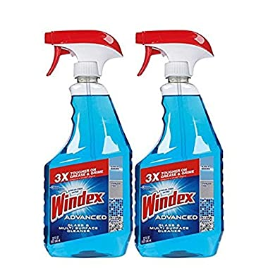 Windex® Advanced Glass & Multi Surface Cleaner, 32 Oz, Pack of 2