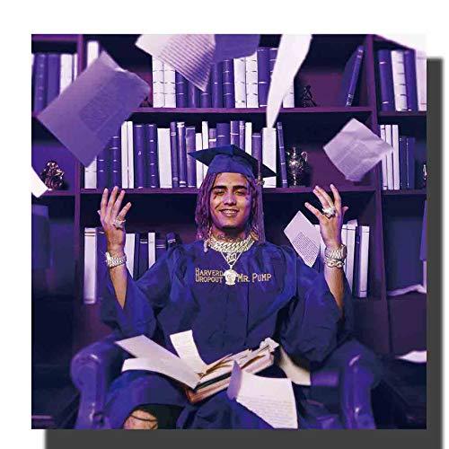 NOVELOVE Imagen de Arte de Pared Harverd Dropout Lil Pump Rap Album Cover Cartel Impresión Lienzo Pintura Regalo Sin Marco 50 * 50cm