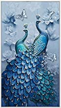 Diamond Painting Full Square 5D DIY Drill Peacock Lucky Bird DP Rhinestone Embroidery Arts Craft Paint-By-Number Kits cros...