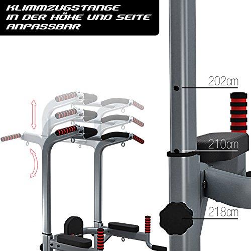 Der Sportstech PT300 ist höhenverstellbar