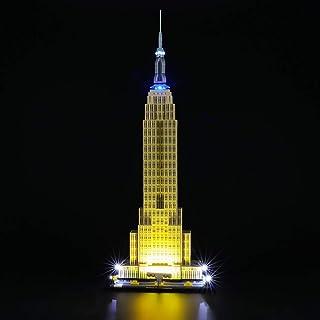 BRIKSMAX Kit de Iluminación Led para Empire State Building,