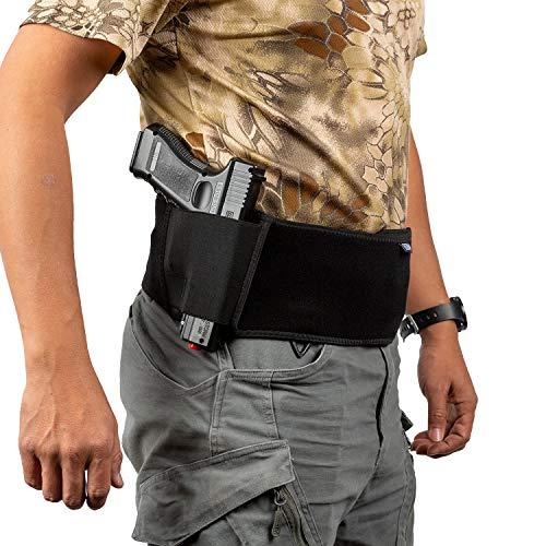 OneTigris Neopren IWB Verdeckter Holster Pistolenholster für Rechtsschützen Glock/Kel Tec/Taurus/Springfield/S&W M&P/Beretta (L)