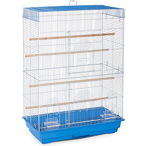 Prevue Pet Products SP426143 SP42614-3 Flight Cage, Blue/White