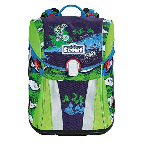 Scout Sunny Set 4-tlg. Schultasche (BMX)