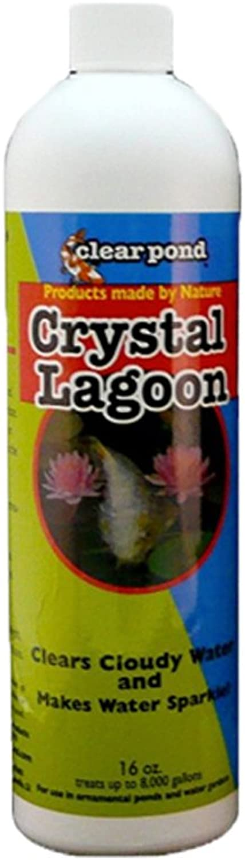 Clear Pond Crystal Lagoon Water Clarifier, 16Ounce