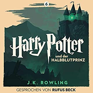 Harry Potter und der Halbblutprinz - Gesprochen von Rufus Beck     Harry Potter 6              Written by:                                                                                                                                 J.K. Rowling                               Narrated by:                                                                                                                                 Rufus Beck                      Length: 22 hrs and 54 mins     Not rated yet     Overall 0.0