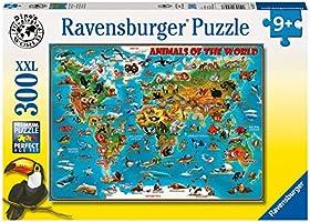 Ravensburger Puzzle dziecięce 13257 - zwierzęta na całym świecie - 300 elementów