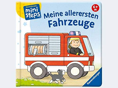 Ravensburger 04100 ministeps Buch Meine allerersten Fahrzeuge