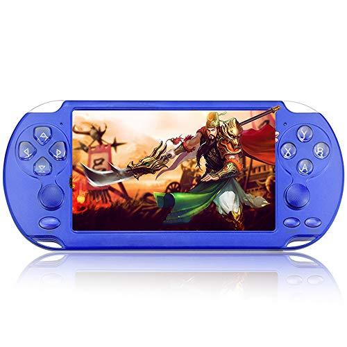 Horen Consolas de Juegos Portátiles PSP Portátiles de 8 GB Reproductor Incorporado 10000 Juegos Consola de Juegos Portátil con 5. Pantalla de 1 Pulgada para Niños Niños Adultos