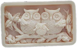 Grainrain Owl Family Craft Art Silicone Soap mold Craft Molds DIY Handmade soap molds
