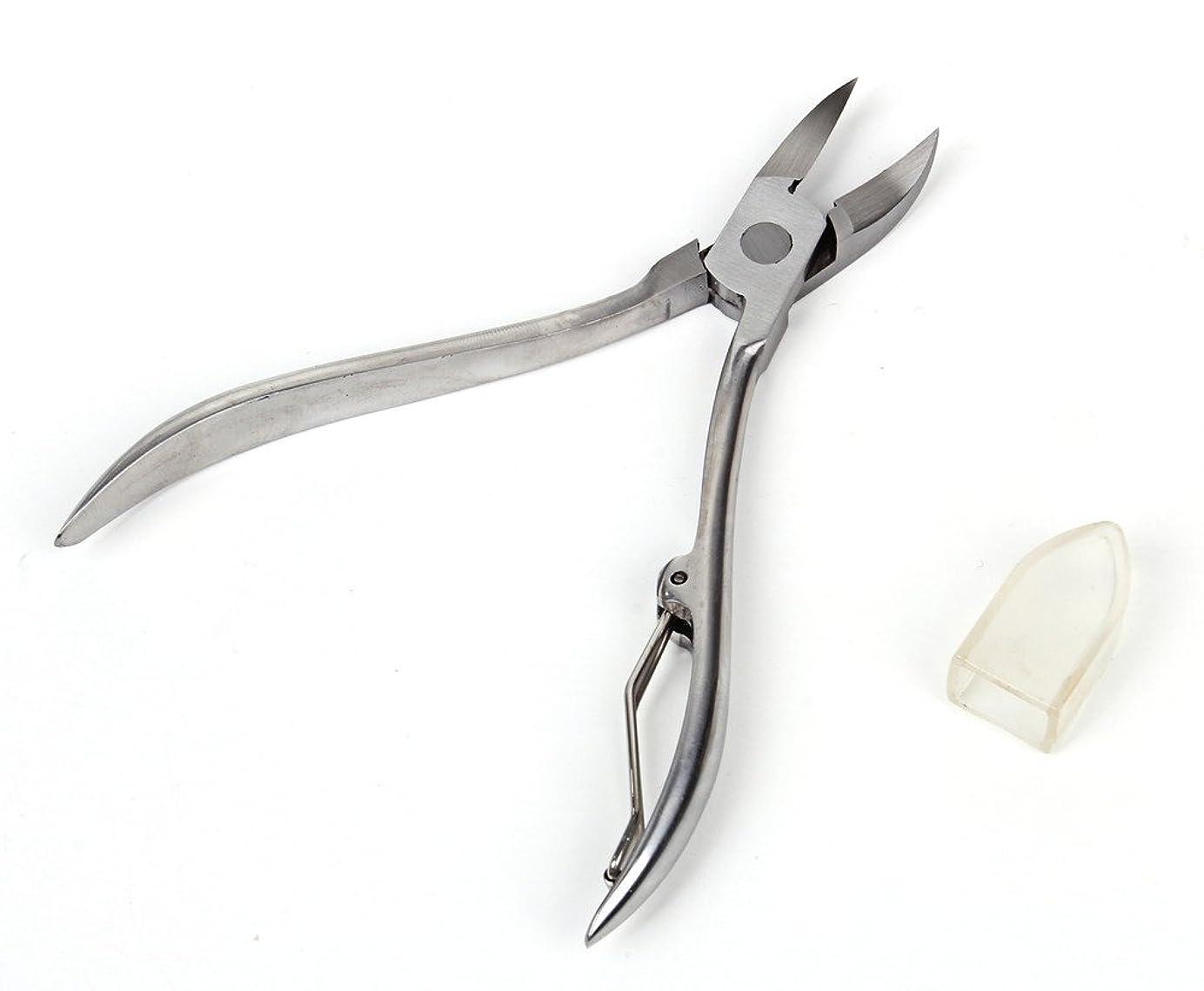 真鍮軽蔑引用巻きづめ 用 ニッパー式 爪切り カッター はさみ
