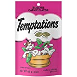 Temptations Classic Treats for Cats Blissful Catnip Flavor 3 Ounces (Pack of 12)