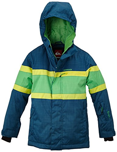 Quiksilver Jungen Snowboard Jacke Fraction Y Jacket, Moroccan Blue, L