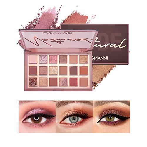 Mimore Sombra de ojos lujosa de 18 colores, paleta...