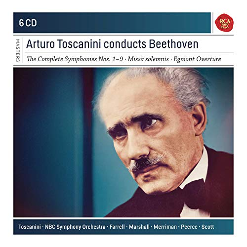 Arturo Toscanini Conducts Beethoven. Sony Classical Masters Series
