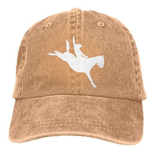 N/A Ocio Sombrero,Dad Hat,Sombrero De Deporte,Sombrero De Sol,Sombreros Sombrilla Al,Cowboy Horse Rider Denim Jeanet Gorra De Béisbol Ajustable Dad Hat