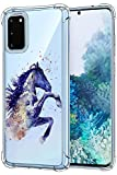 Oihxse Compatible pour Samsung Galaxy A3 2017/A320 Silicone Cover, Coque en Transparent TPU Doux...