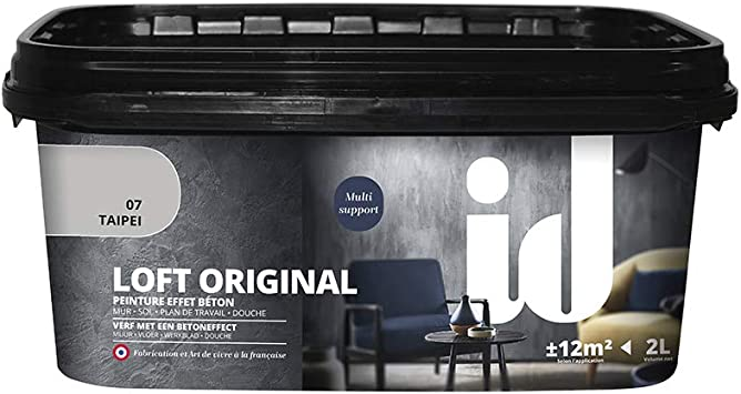 Loft Beton Original 2 L Pittura Di Pareti Effetto Hormigon Loft Beton Original 2 Del Marchio Decoratives Les 2 Litri Amazon It Fai Da Te