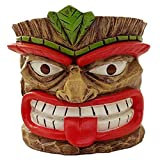 Zhiping The Grande Tiki God Planter Succulent Pot, Table Statue Totem Potted Ornaments, Resin Crafts Flower Pots Gardening Decorations
