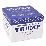 SCS Direct The World Hates Trump Card Game Base Set - Party Card Game with 200 Blue Cards, 50 Red Cards