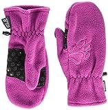 Jack Wolfskin Kinder Handschuhe Fleece Mitten, Dark Magenta, 128