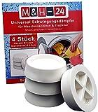 M&H-24 Amortisseurs / Vibration Silencieux / Tapis Anti-Vibration pour Machine à...