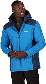 Regatta Men's Thornridge Ii Waterproof Thermoguard Insulation Warm Fleece Panels Concealed Hood Jacket