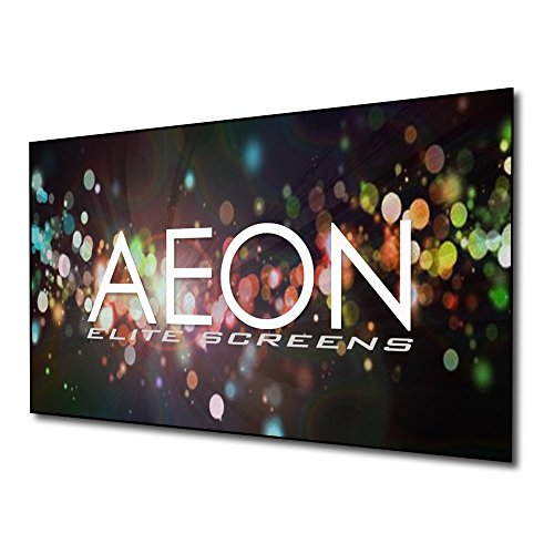ELITE SCREENS fixed frameless projector screen Aeon Edge Free 222 x 125 cm, 16:9 format 100 inches, 3D CineGrey cloth, AR100DHD3