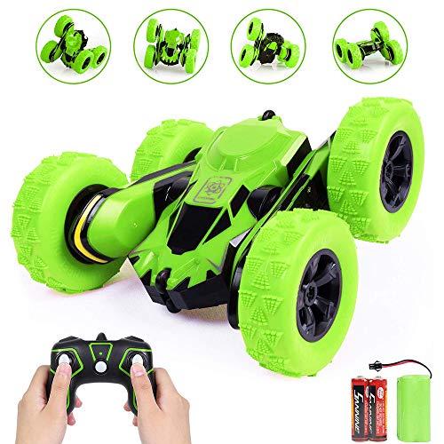 regali per bambini giocattolo elettrico auto acrobatica auto telecomando auto acrobatica per bambini giocattolo telecomando