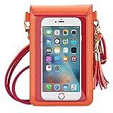 MoKo Handy Tasche Hülle,PU Leder wasserdichte Schultertasche für iPhone 11 Pro/11/Xs/Xs Max/XR,...