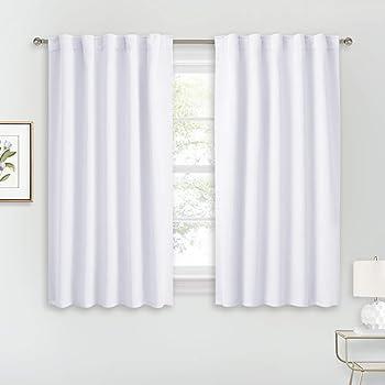 Home Bedroom Blackout Darkening Curtains Window Panel Drapes Door Curtain