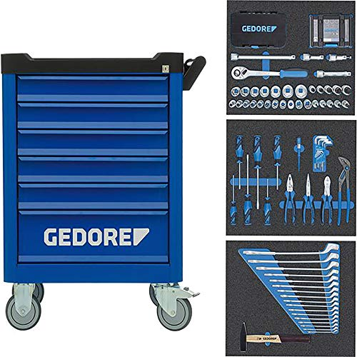Gedore Werkzeug-Wagen WORKSTER mit Sortiment 172tlg